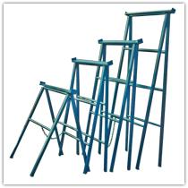 Caballetes borriquetas obra materiales construccion for Caballetes metalicos
